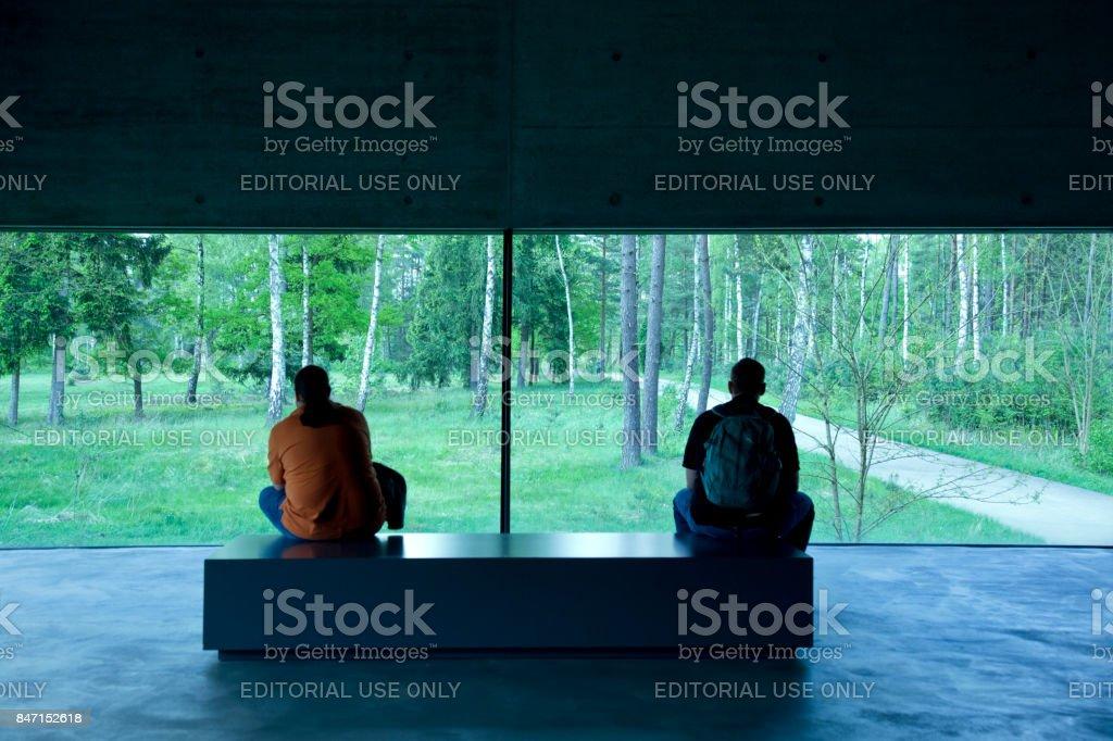 Contemplation stock photo