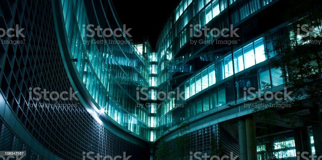 Contemporary achitecture facade royalty-free stock photo
