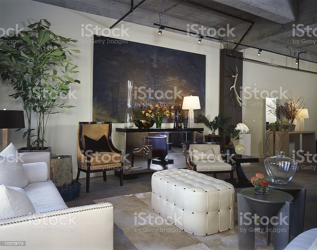 Contemporary Apartment Interior 4 royalty-free stock photo