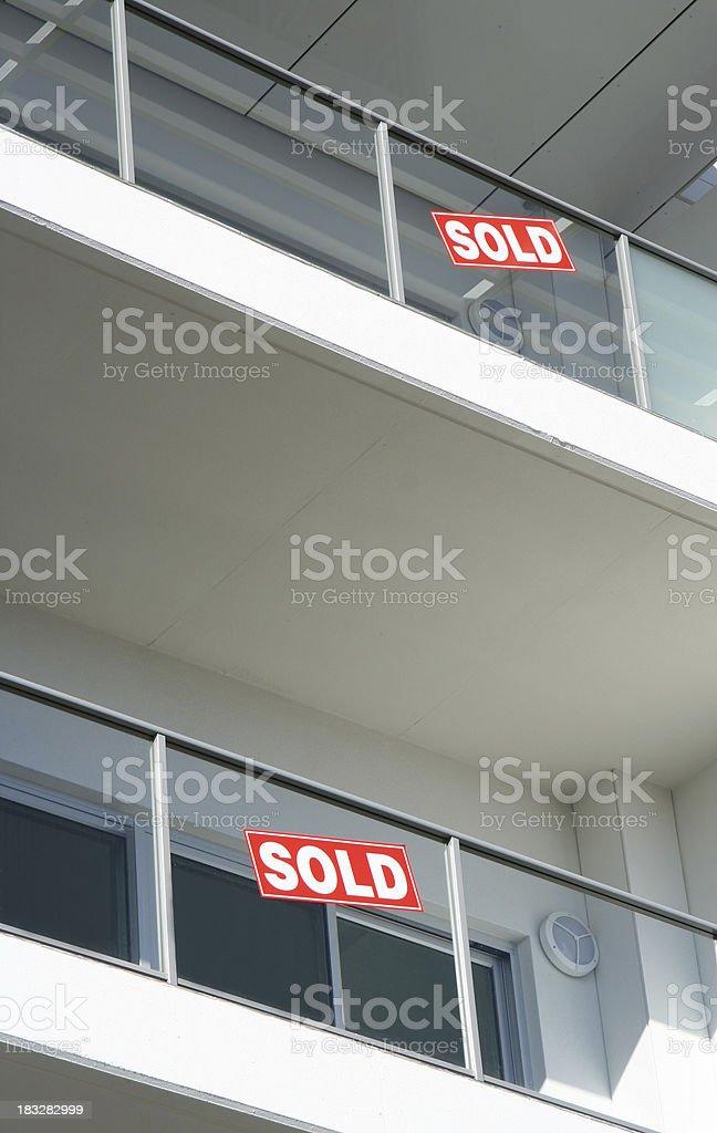Contemporary Apartments royalty-free stock photo