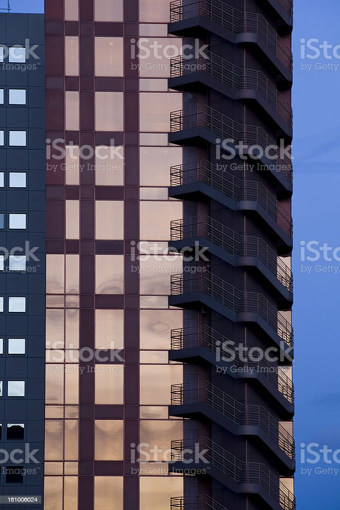 Contemporary Architecture Detail royalty-free stock photo
