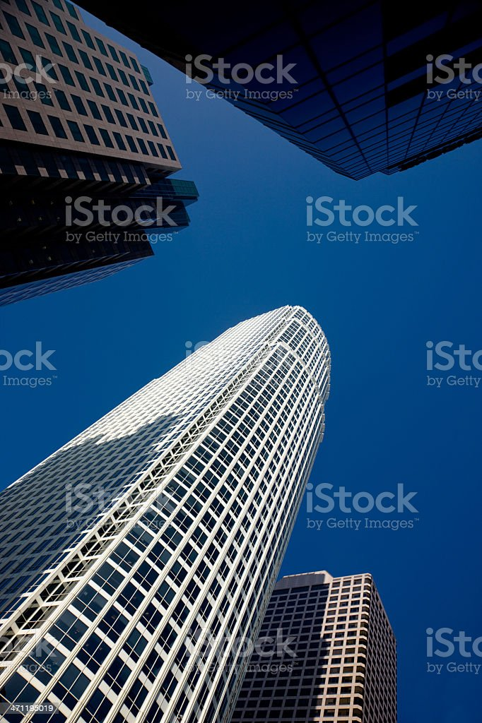 Contemporary Architecture Financial District Skyscraper royalty-free stock photo