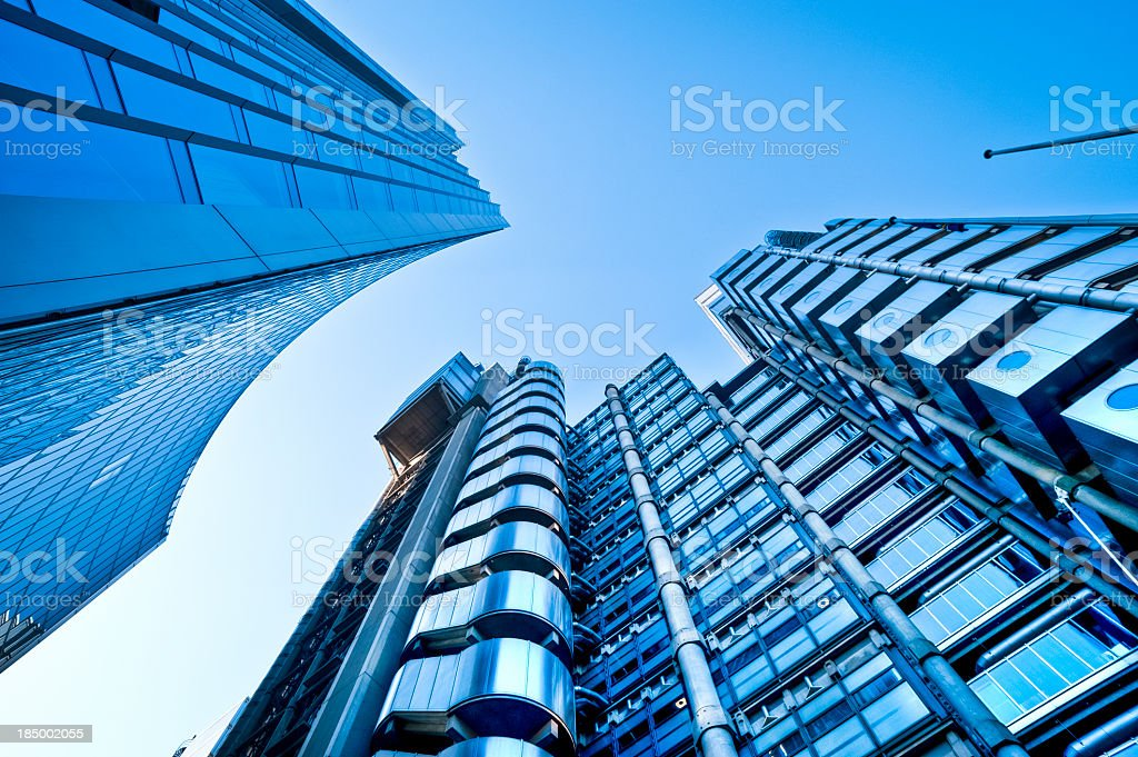 Contemporary Architecture In London. stock photo