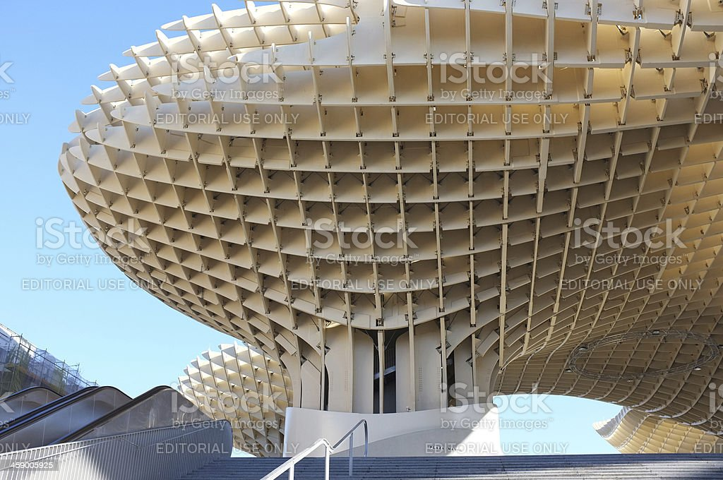 Contemporary architecture in Seville, Spain stock photo