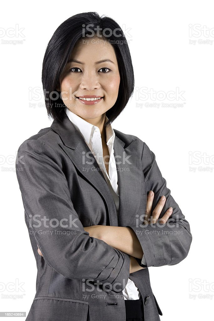 Contemporary Asian Businesswoman stock photo