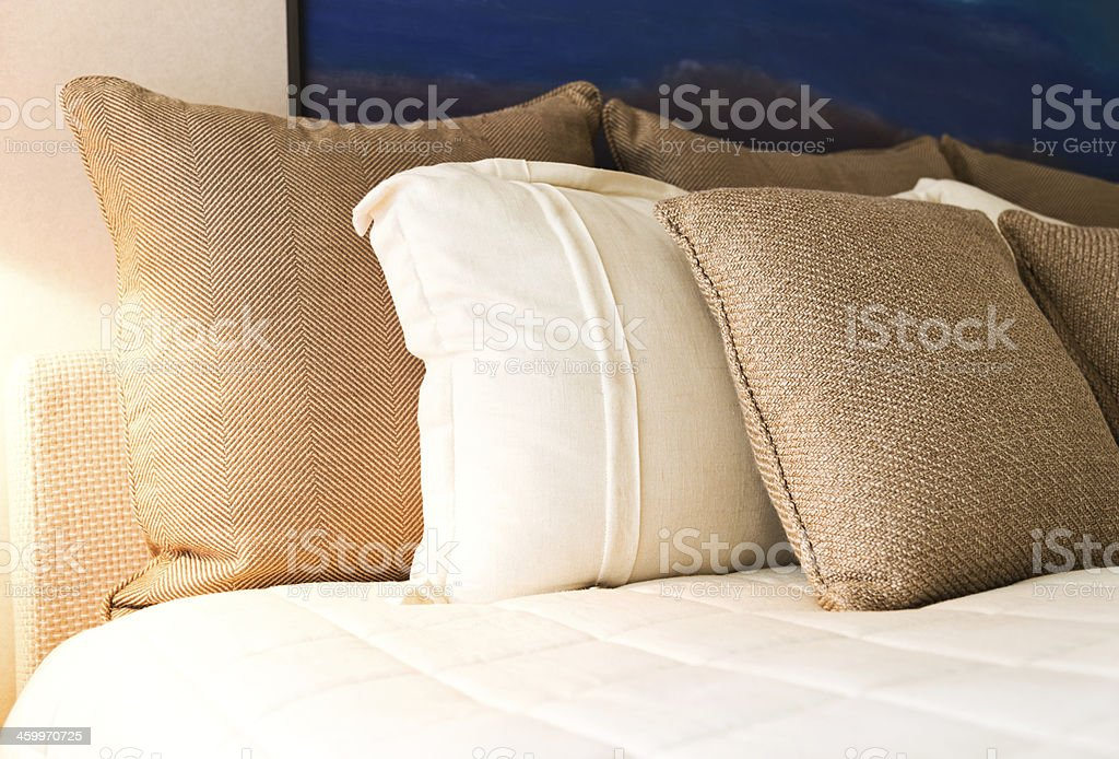 contemporary bedroom royalty-free stock photo