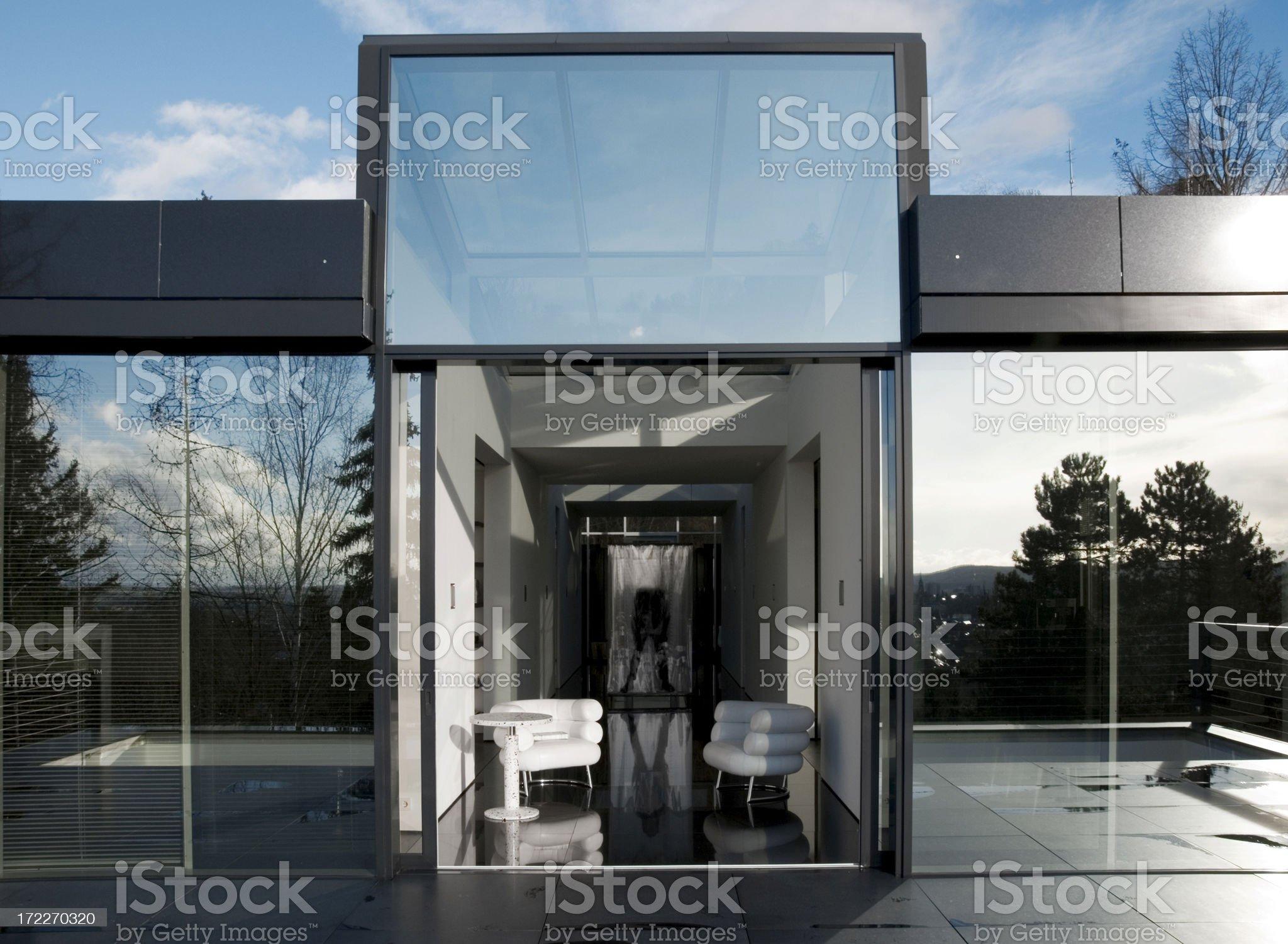 contemporary blue royalty-free stock photo