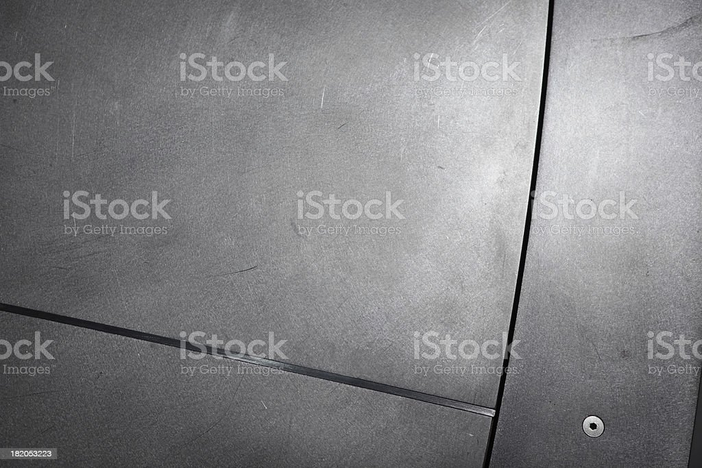 Contemporary Brushed Steel Background stock photo