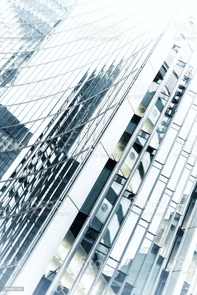 Contemporary building London royalty-free stock photo
