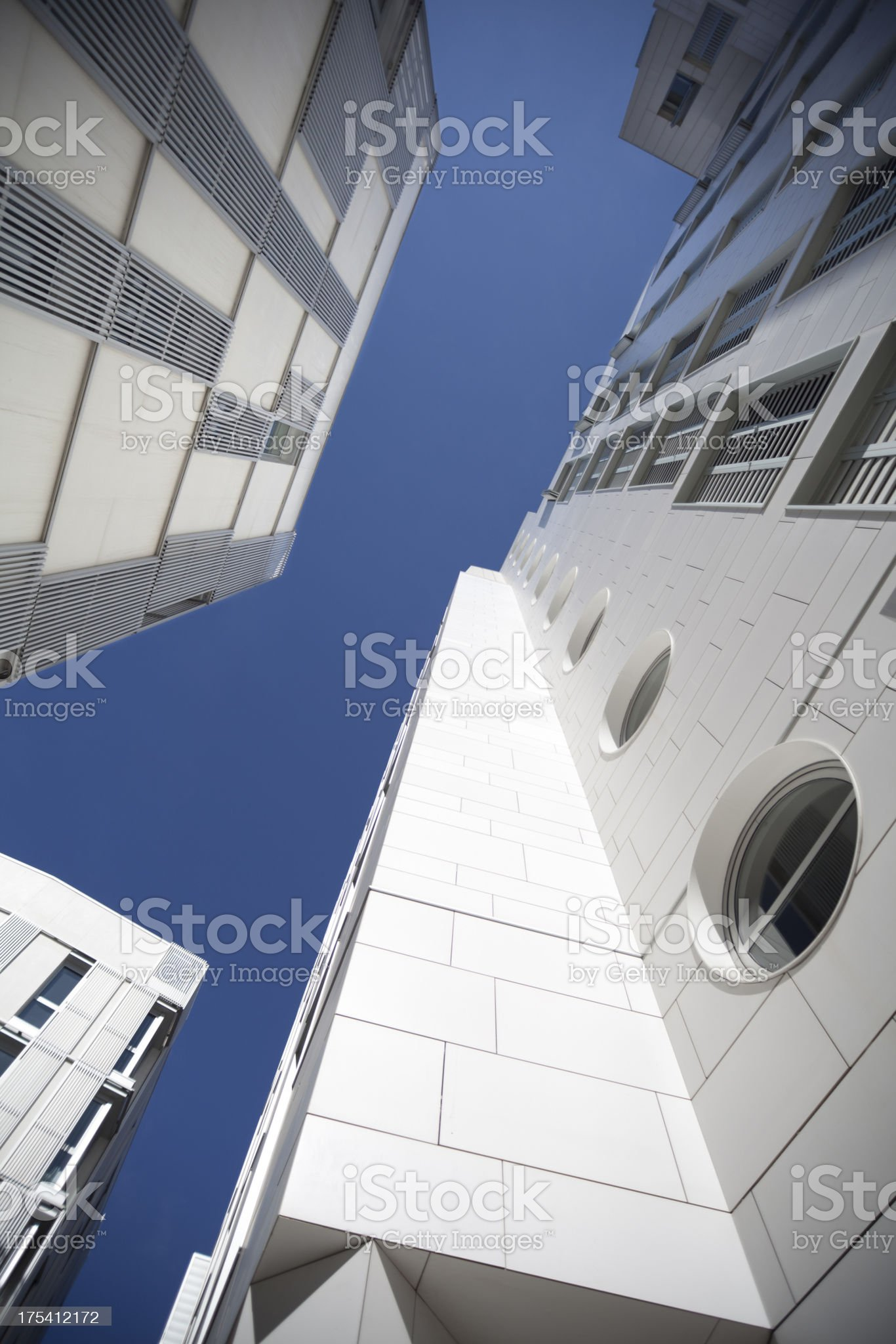 Contemporary buildings royalty-free stock photo
