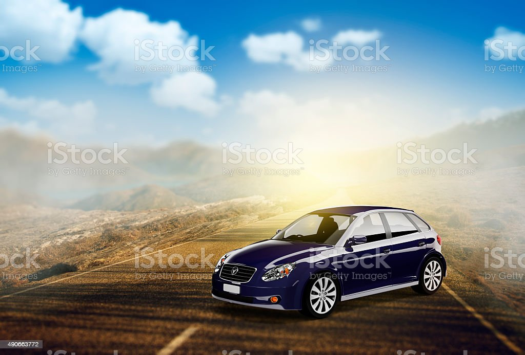 Contemporary Car Elegance Vehicle Transportation Luxury Performa stock photo