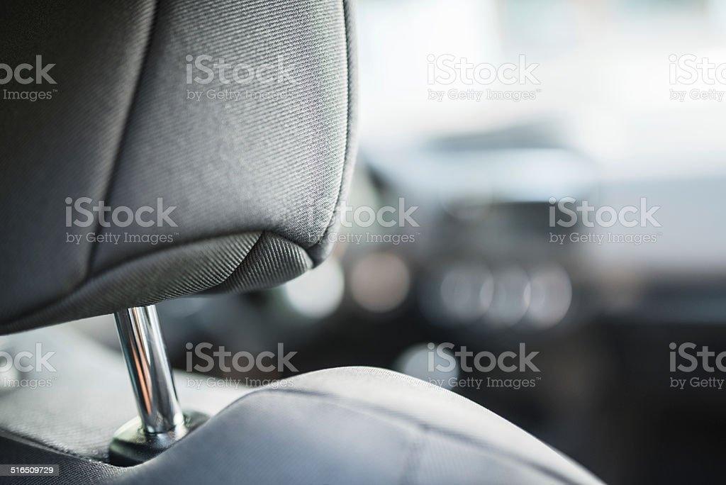 contemporary car interior view stock photo