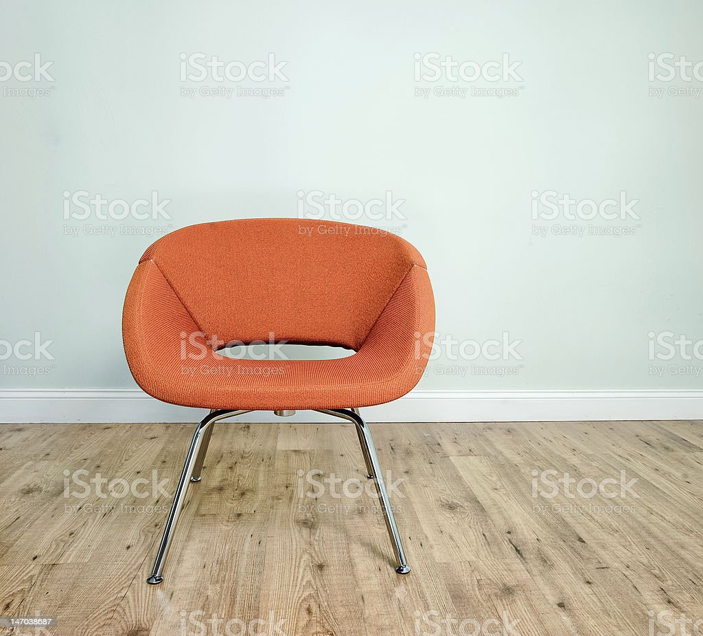 Contemporary Chair stock photo