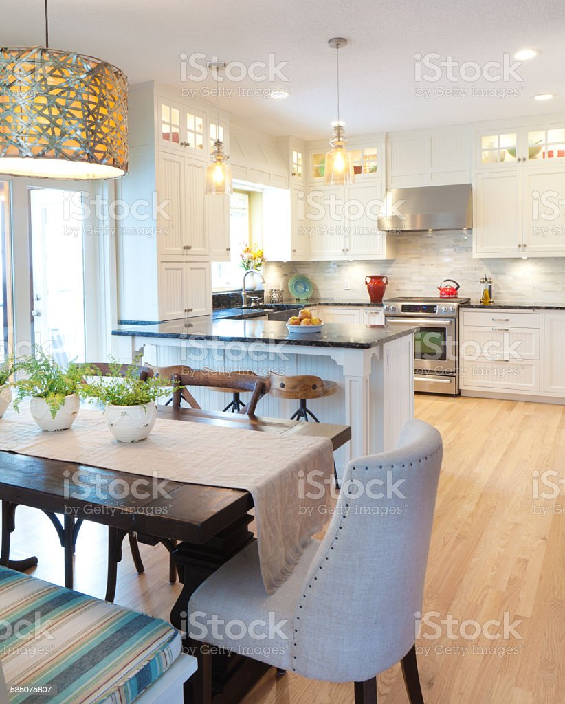 Kitchen Dining Room Open Concept
