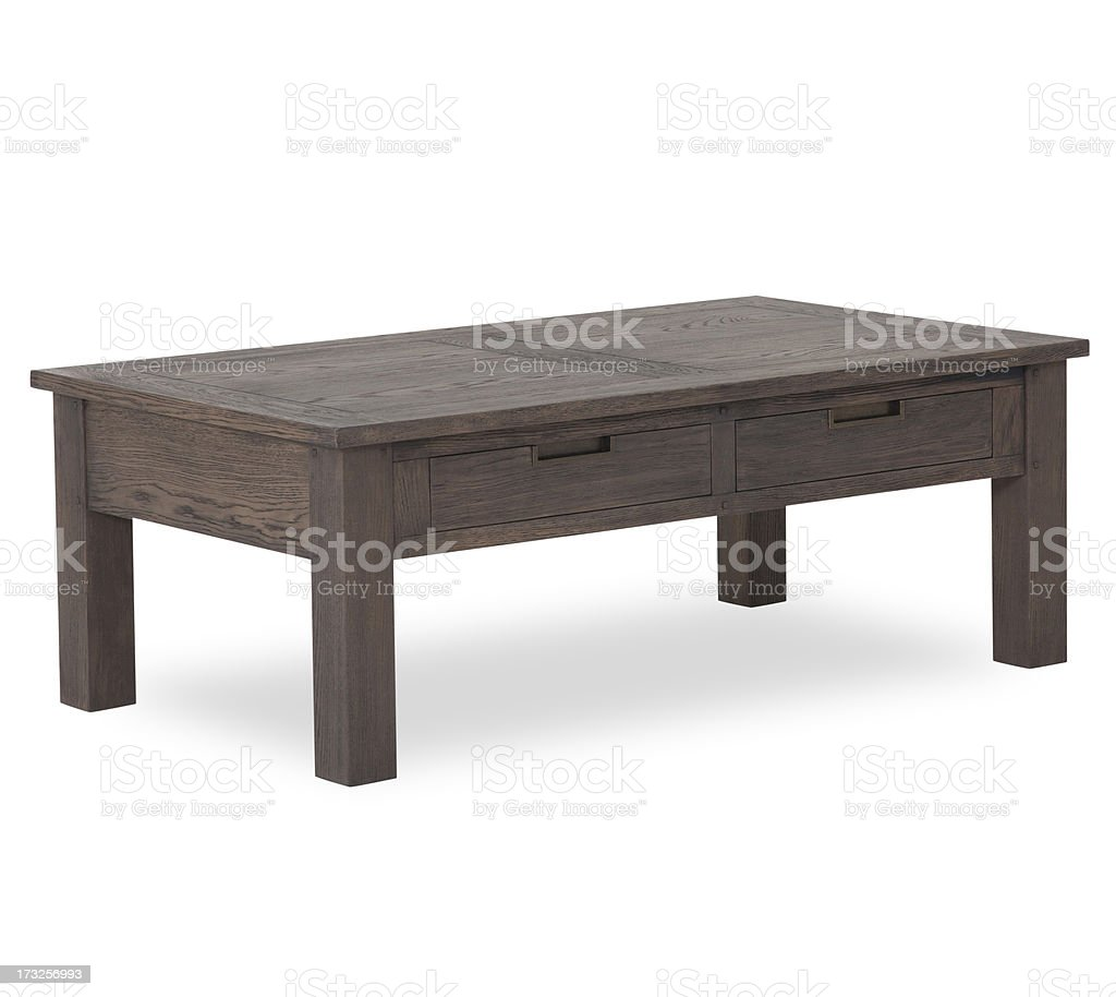 Contemporary Coffee table Isolated stock photo