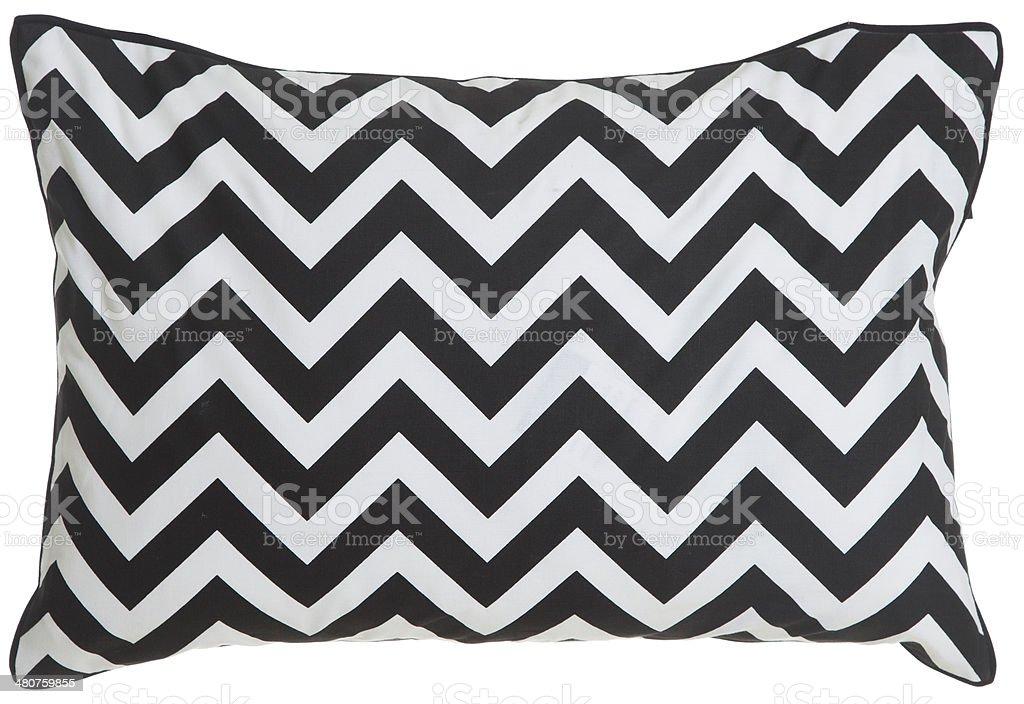 Contemporary Cushion Isolated royalty-free stock photo