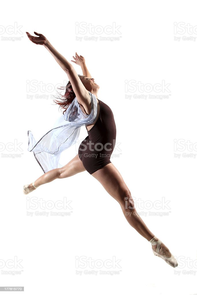 Contemporary dancer royalty-free stock photo