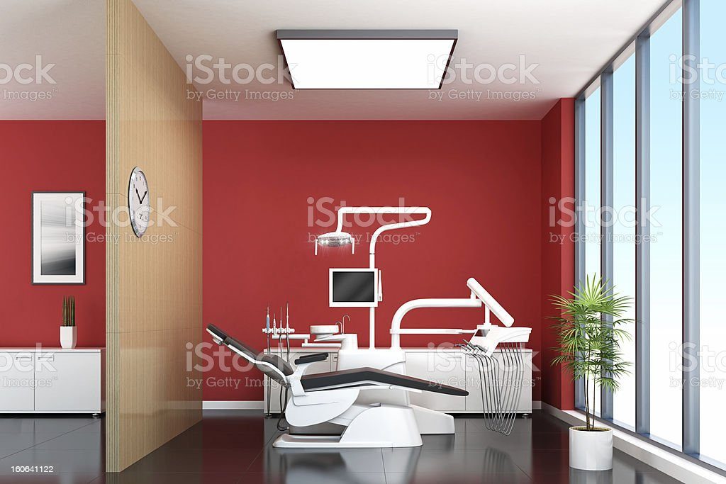 Contemporary Dentist Office royalty-free stock photo
