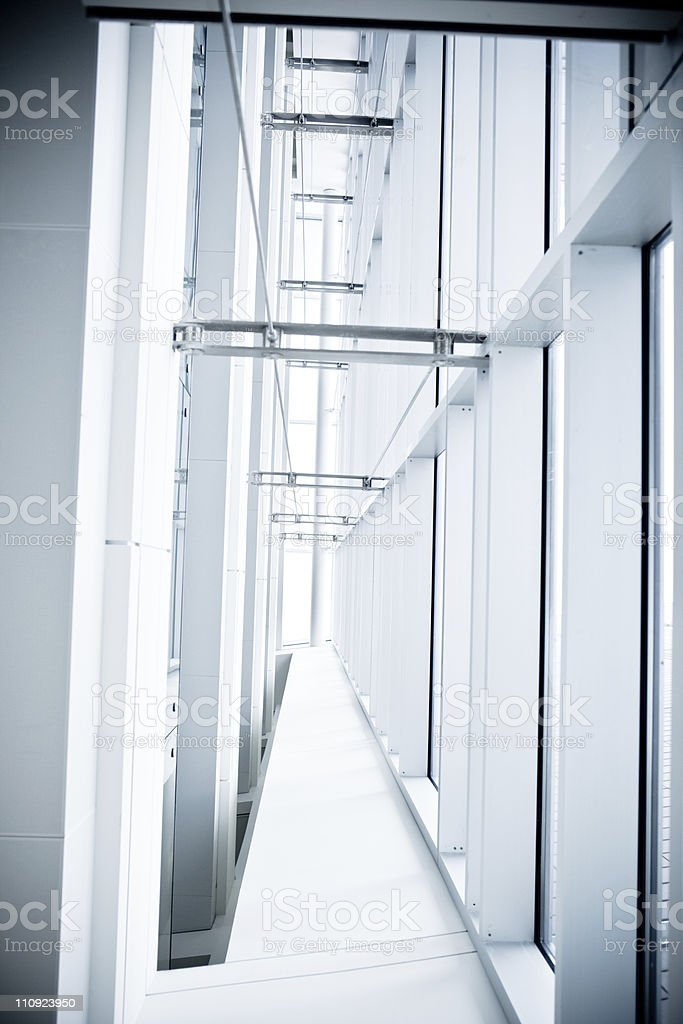 Contemporary design office interior and window royalty-free stock photo