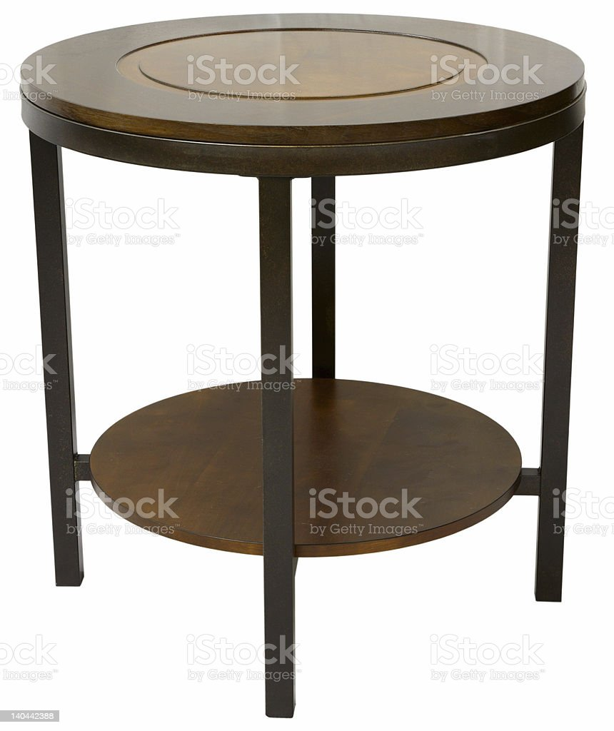 Contemporary End Table stock photo