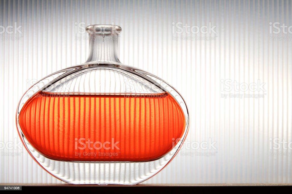 Contemporary fragrance [v-lines] stock photo