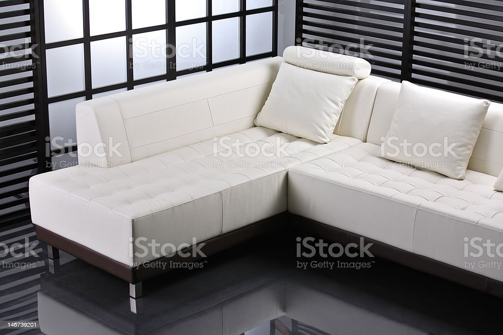 Contemporary interior royalty-free stock photo