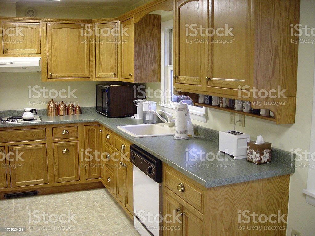 Contemporary Kitchen royalty-free stock photo