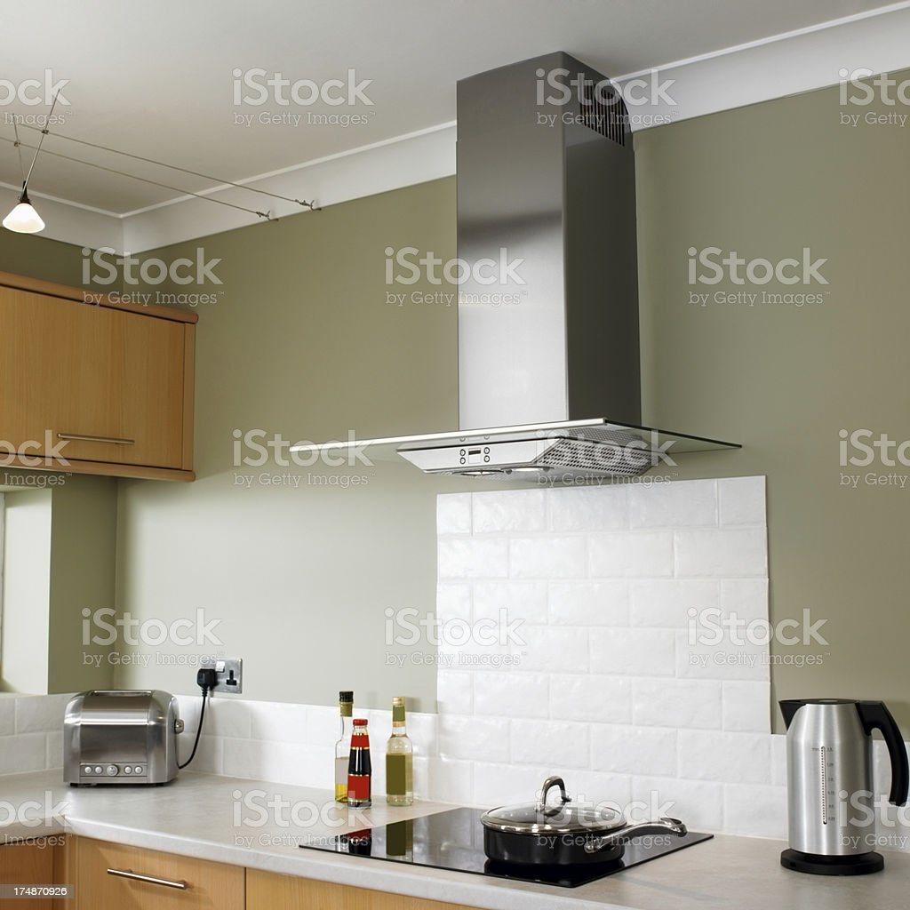 Contemporary Kitchen royalty-free stock photo