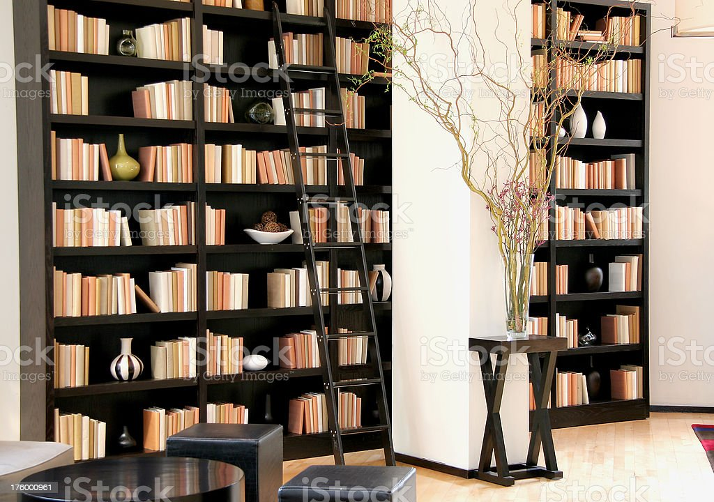 Contemporary library. royalty-free stock photo