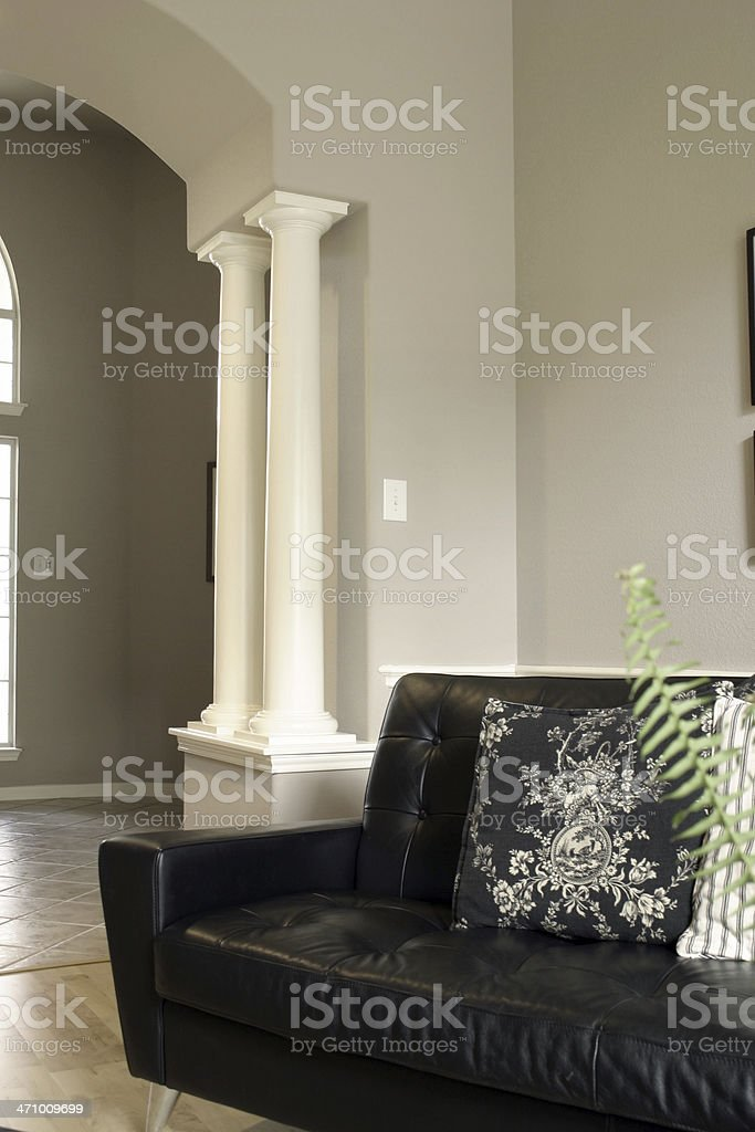 contemporary living royalty-free stock photo