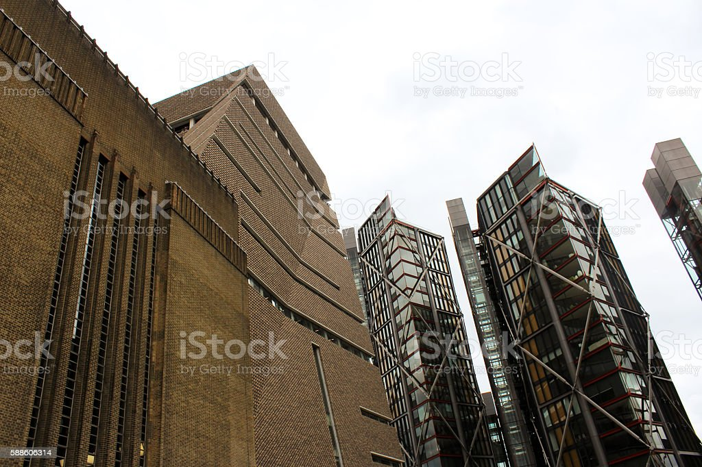 Τατε Μοερν ανδ Contemporary London stock photo