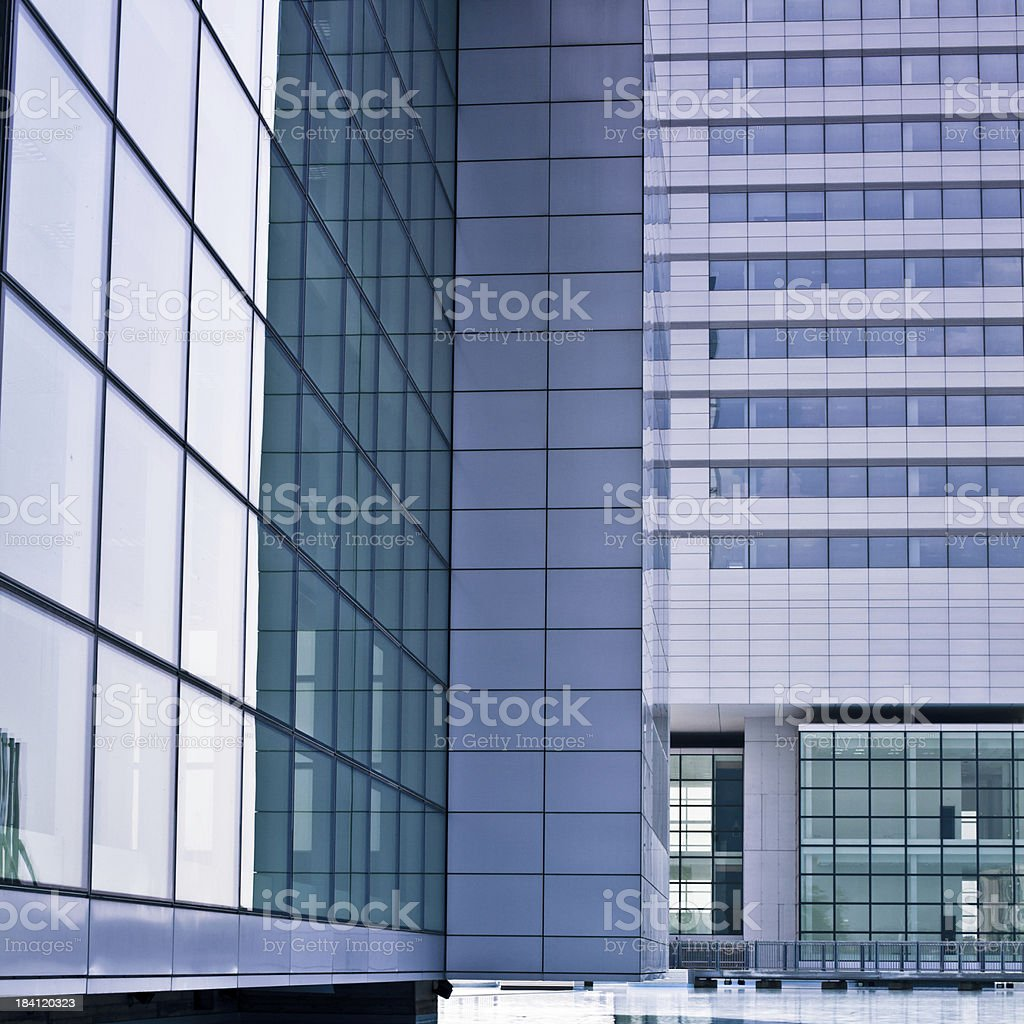 Contemporary Modern Architecture royalty-free stock photo