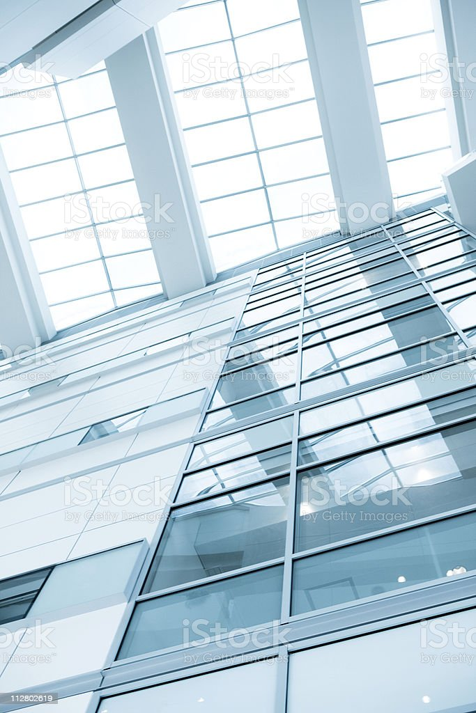 Contemporary office interior design royalty-free stock photo