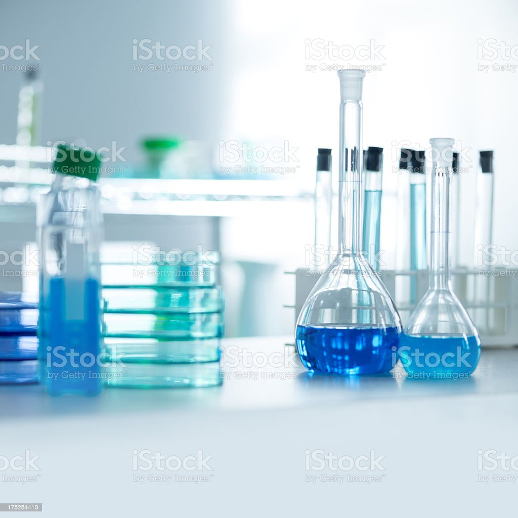 Contemporary research laboratory royalty-free stock photo