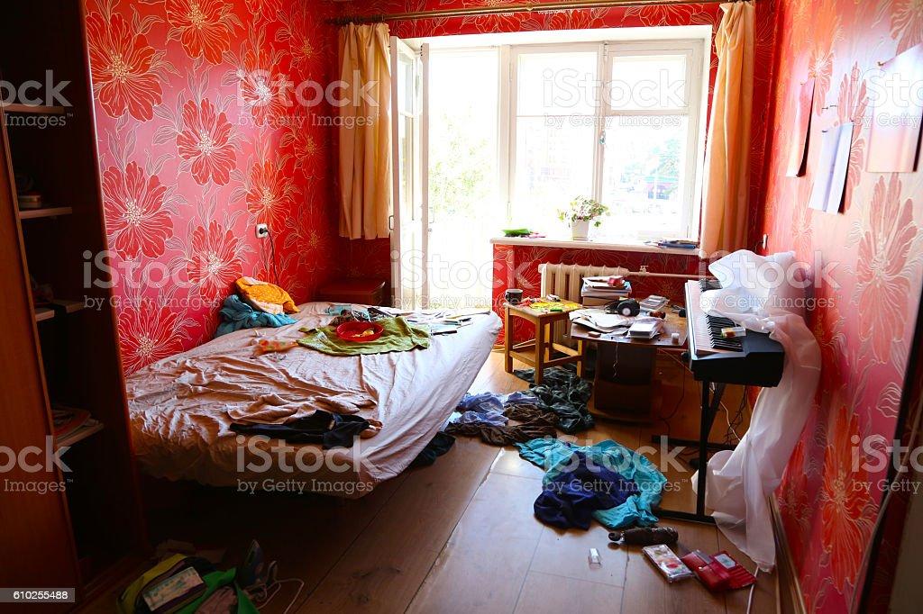 contemporary room stock photo