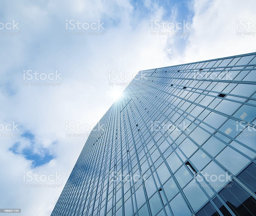Contemporary skyscraper royalty-free stock photo
