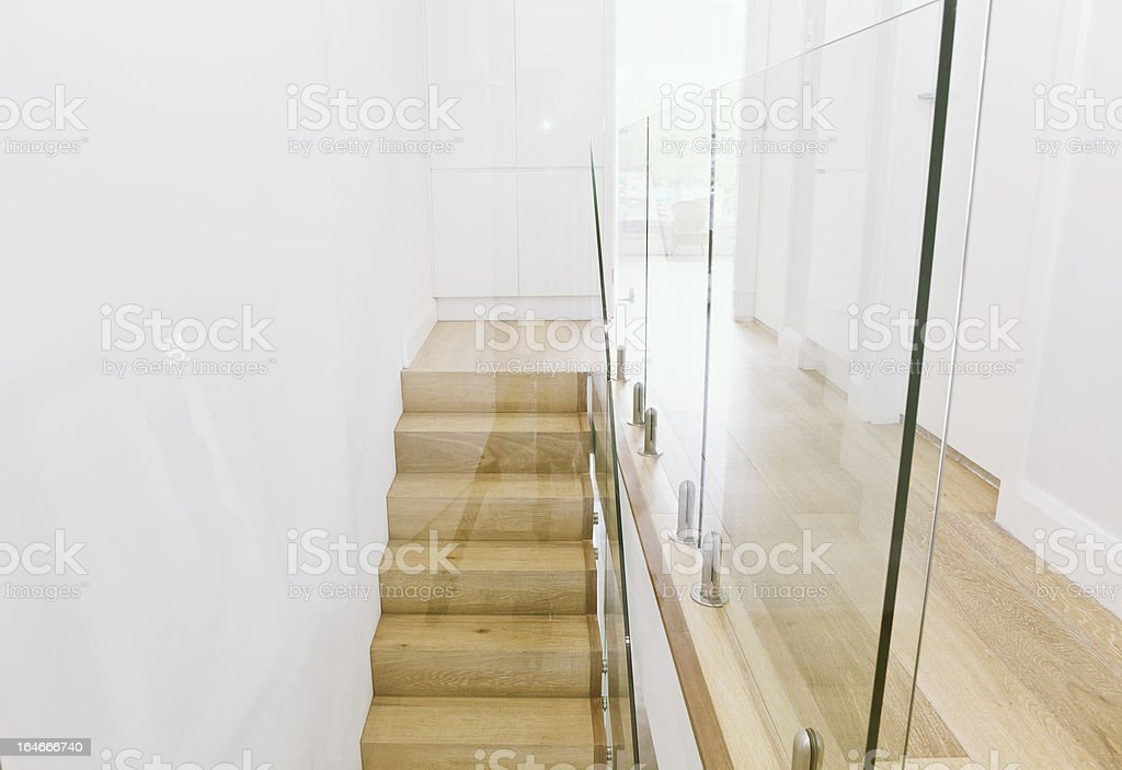 Contemporary Staircase stock photo