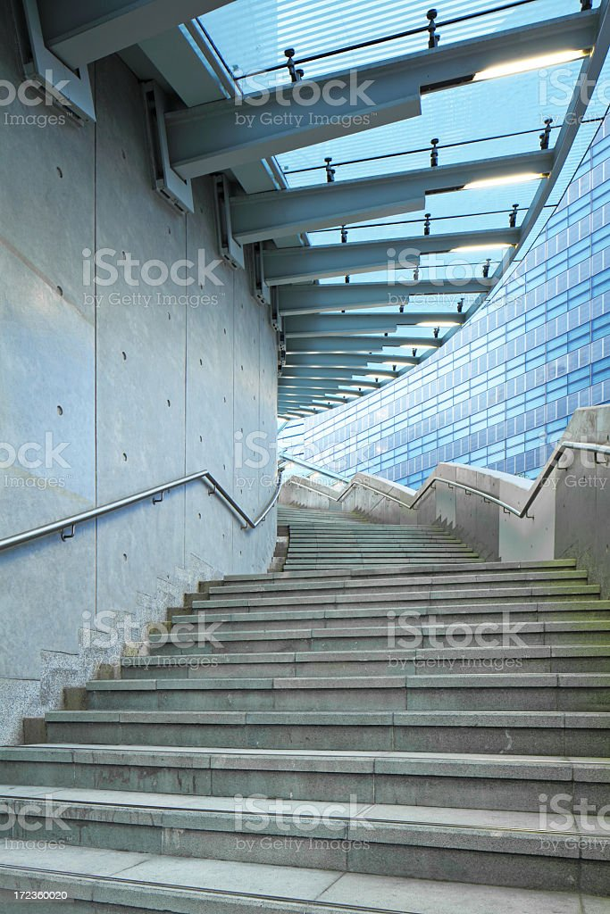 Contemporary Stairway royalty-free stock photo