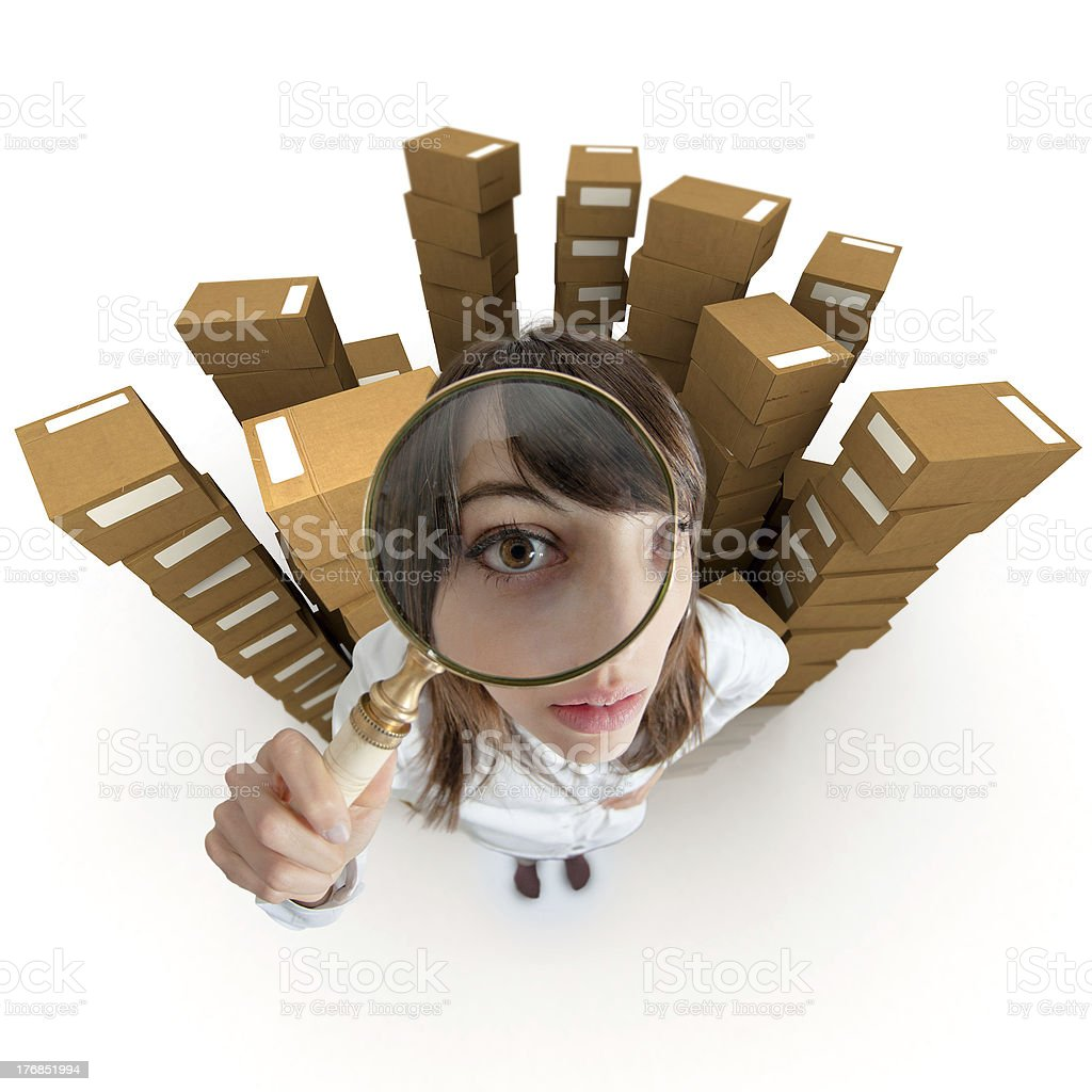 Content tracing stock photo