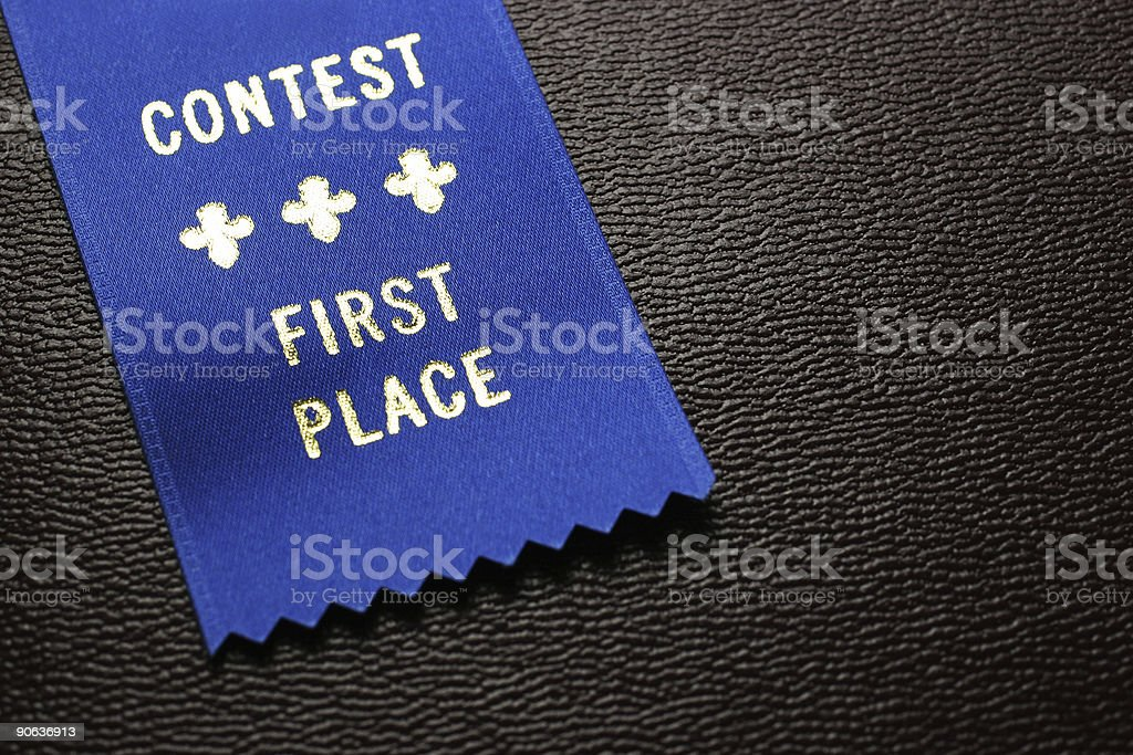 Contest Winner royalty-free stock photo
