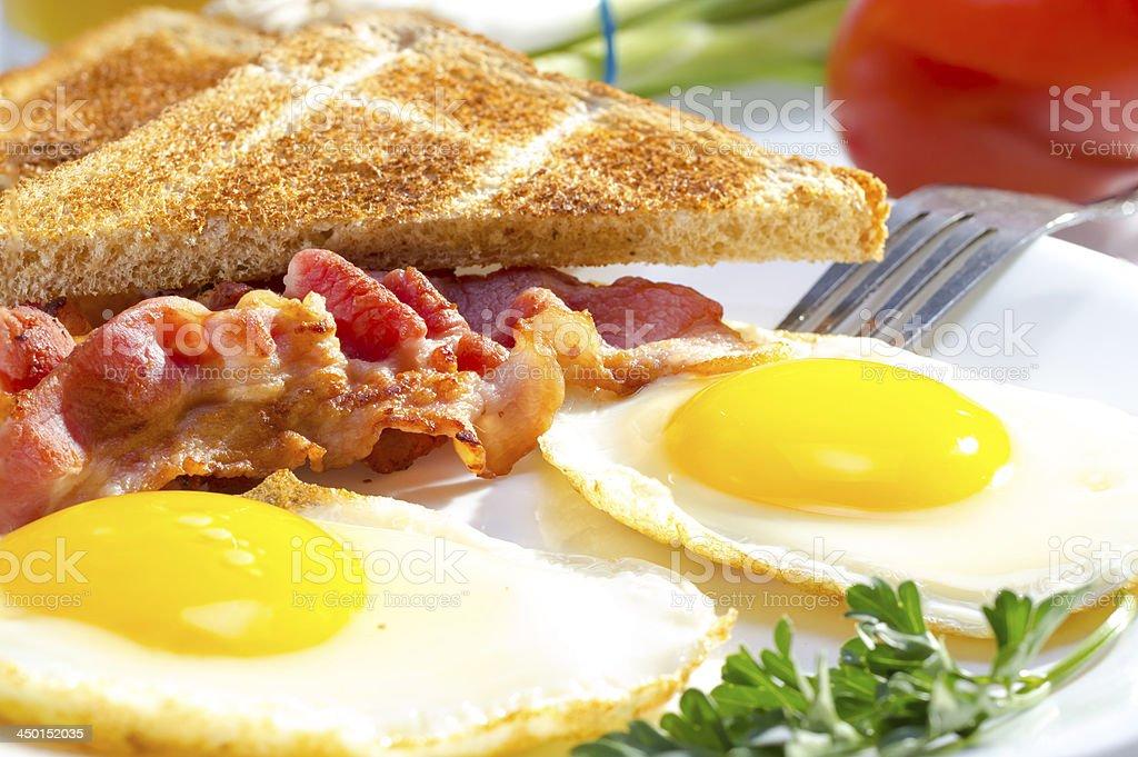 Continental breakfast. stock photo