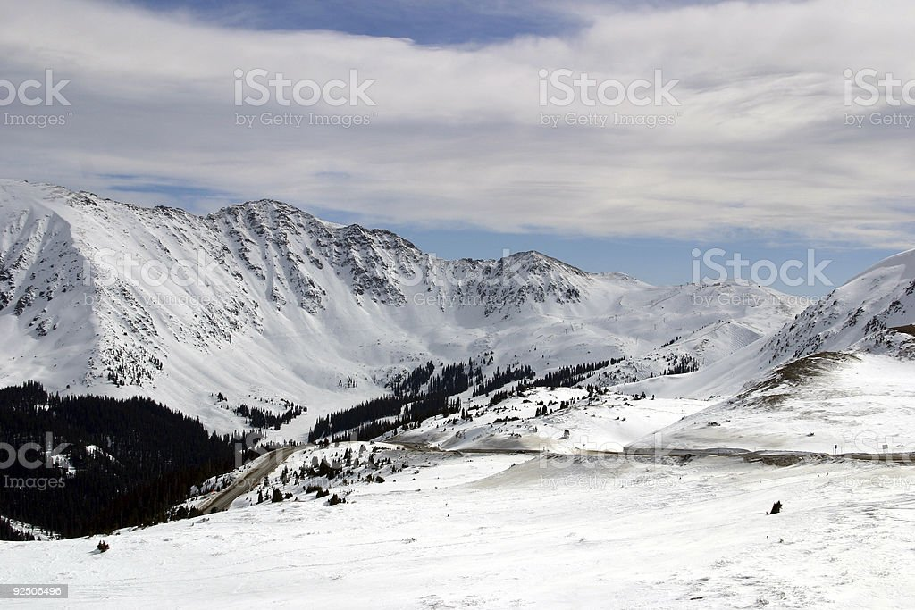 Continental Divide stock photo