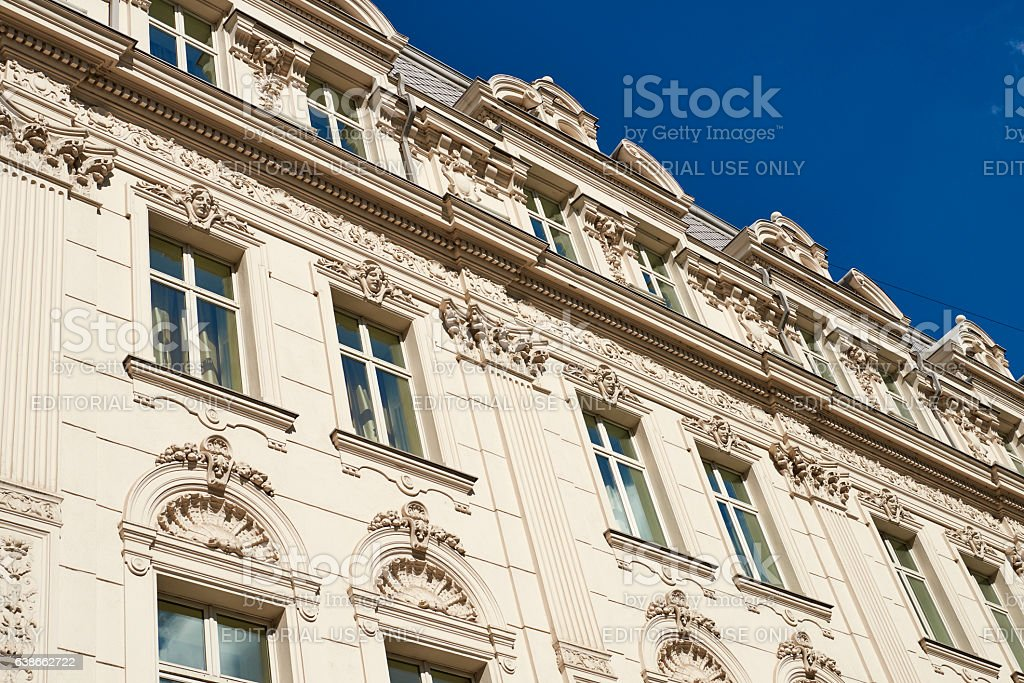 Continental Hotel in Bucharest stock photo