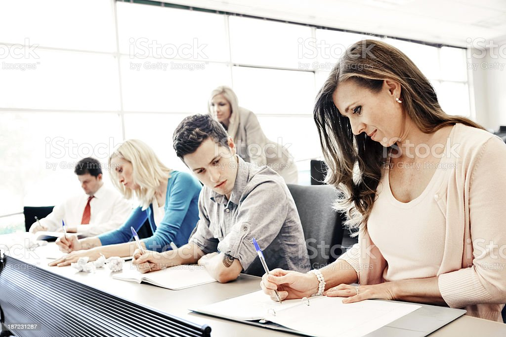 Continuing education. royalty-free stock photo