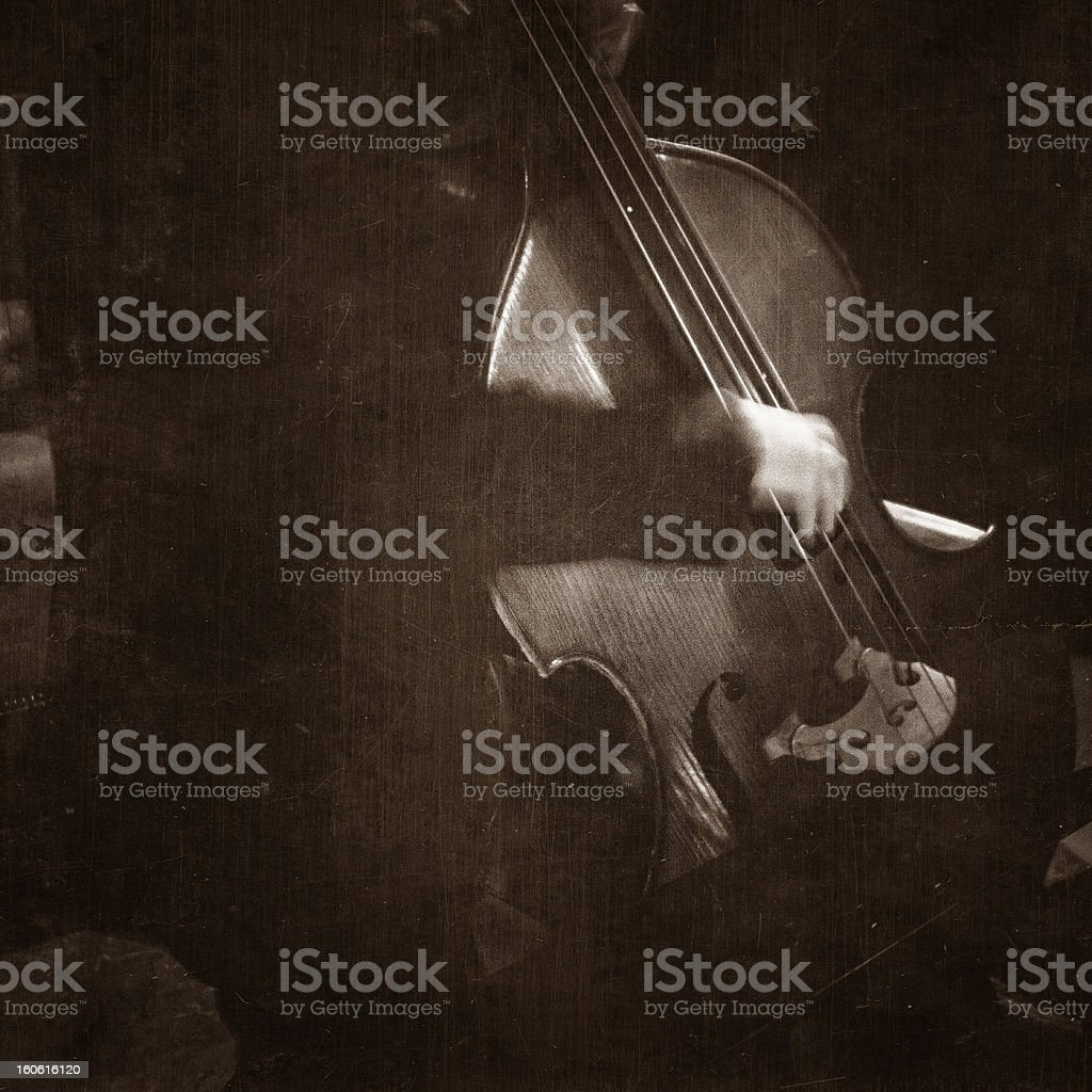 contrabass royalty-free stock photo