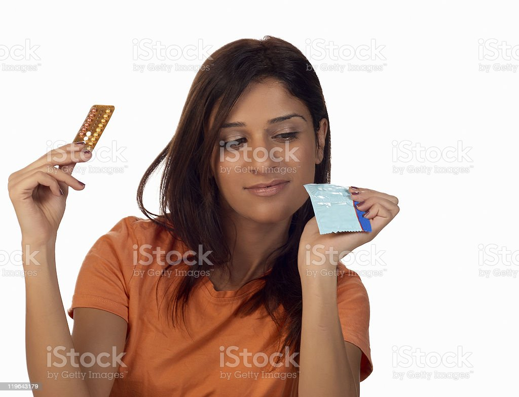 Contraception royalty-free stock photo