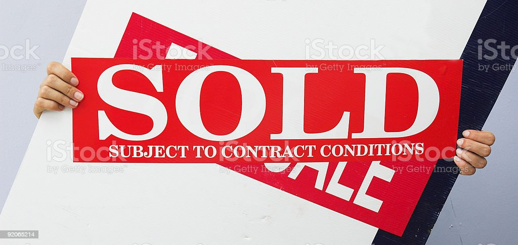 Contract agreed royalty-free stock photo