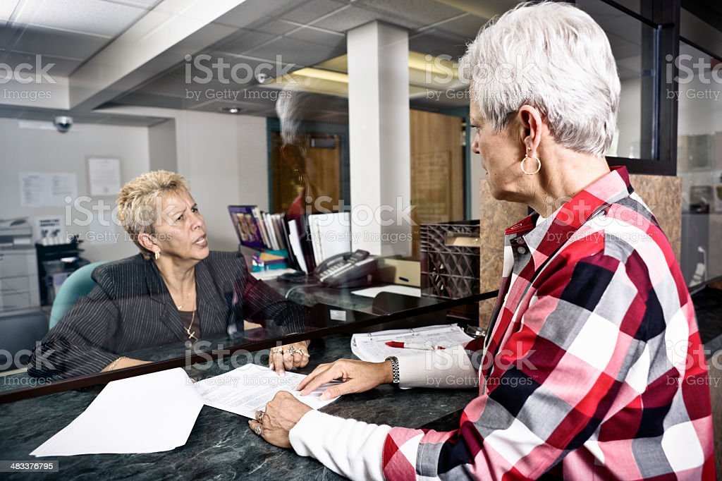 Contract Dispute stock photo