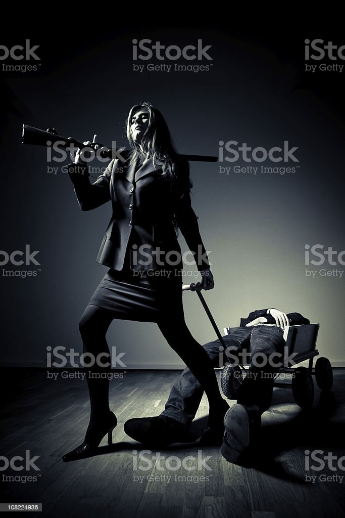 contract killer royalty-free stock photo