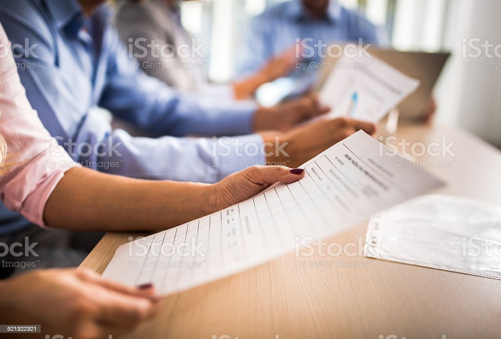 Contract. stock photo